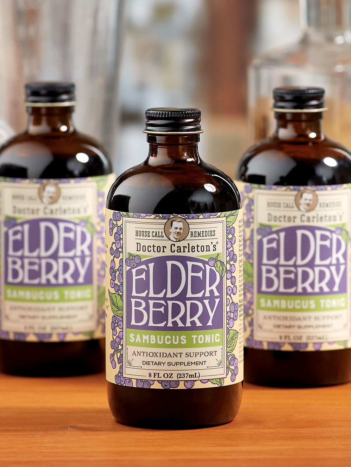 Dr Carleton's Traditional Elderberry Concentrate Immune Tonic, 8 oz.