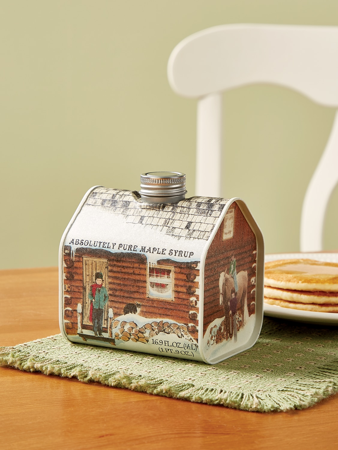 Cabin Tin Filled With Vermont Maple Syrup