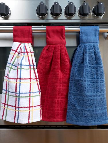 Hanging Kitchen Towels, Set of 2