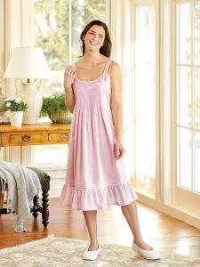 Ella Simone Lovely Cotton Nightgown aa93be709