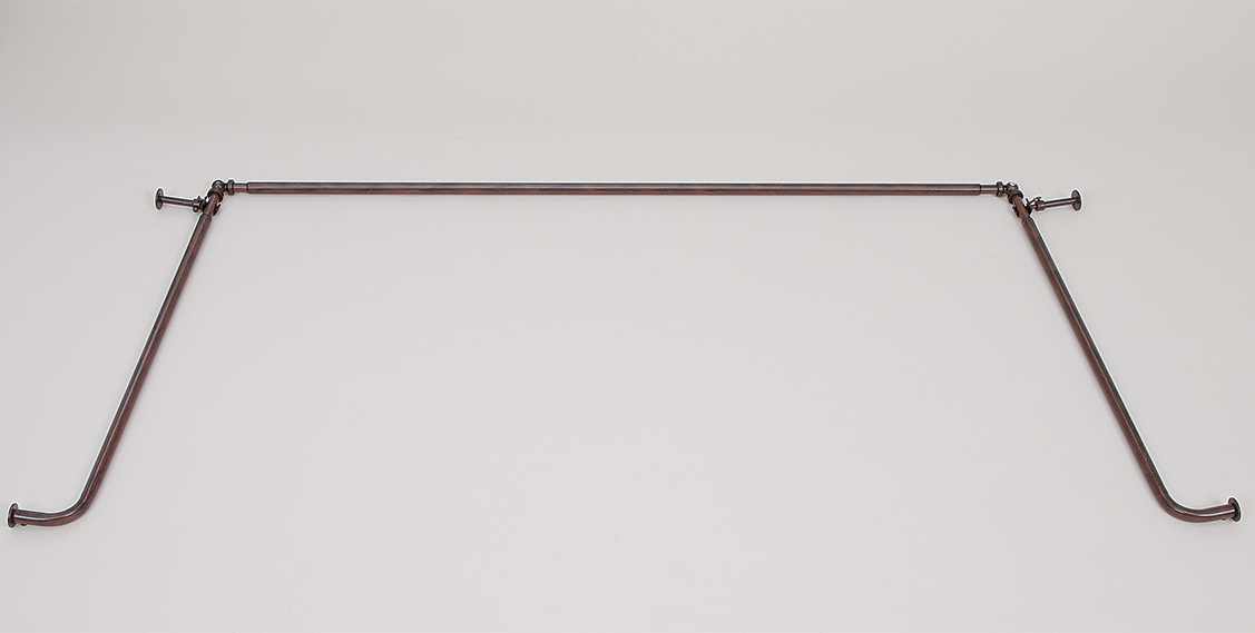 58 Inch Diameter Bay Window Rod Set