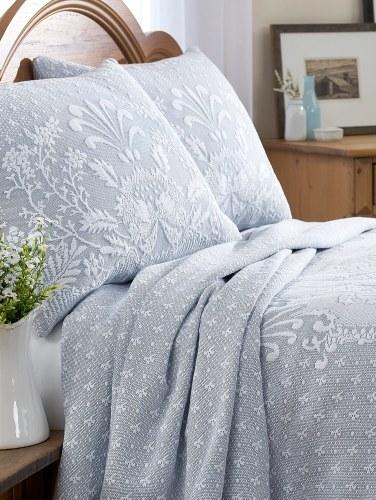 Abigail Adams Matelasse Coverlet or Pillow Sham