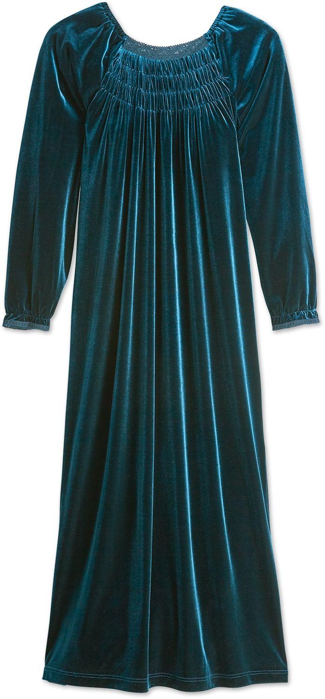 89a1d1abf Ella Simone Velvet Nightgown