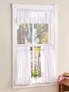 Kitchen Curtains & Drapes   Vermont Country Store