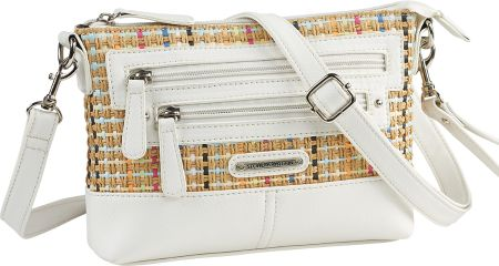 Confetti Tweed Crossbody Bag By Stone Mountain