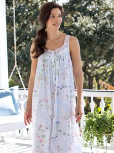 5a3158f8a9 Eileen West Garden of Dreams Nightgown
