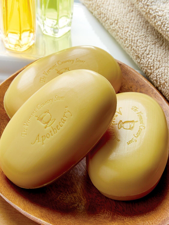 Apple Cider Vinegar Soap, 3 Bars
