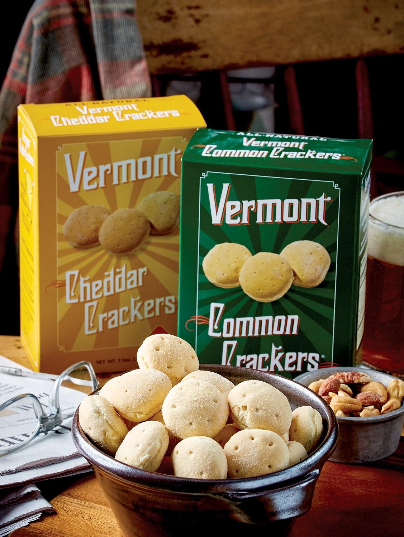 Vermont Common Crackers, 3 Boxes