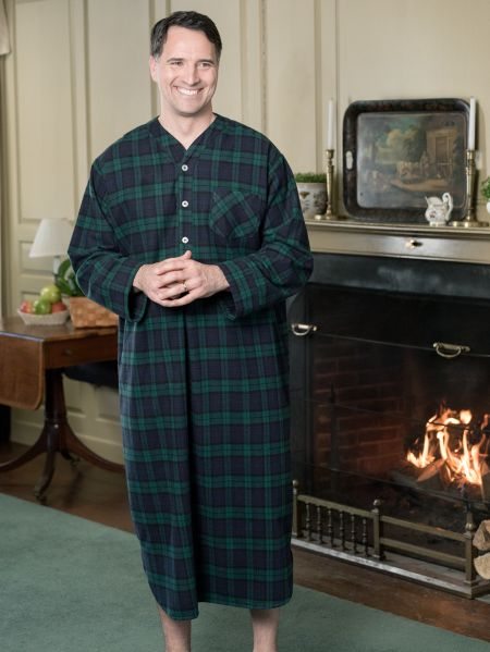 Portuguese Flannel Sleep Shirt For Men  4c7554e31