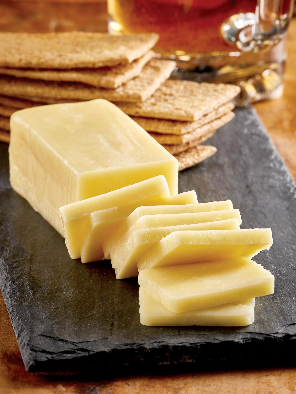 Vermont Garlic Cheddar Cheese