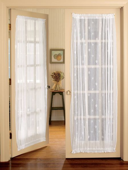 Seaside Lace Door Panel Curtain Vermont Country Store