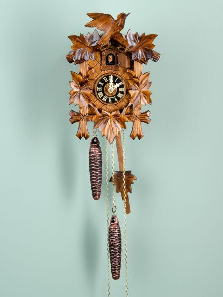 authentic black forest cuckoo clock hand carved in germany