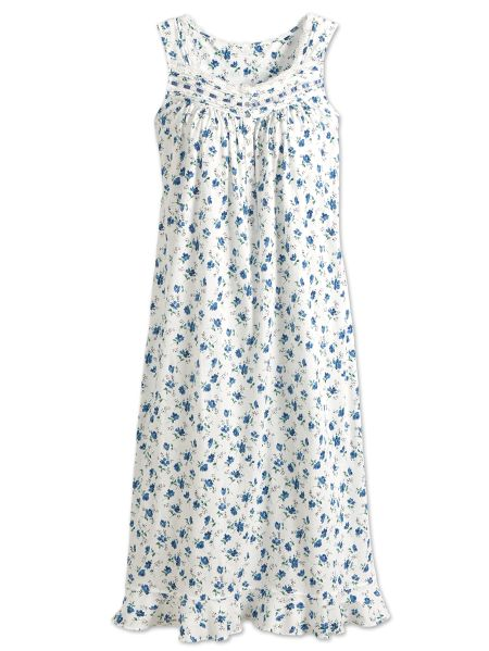 f747bc14c00f9 Eileen West Floral Print Nightgown