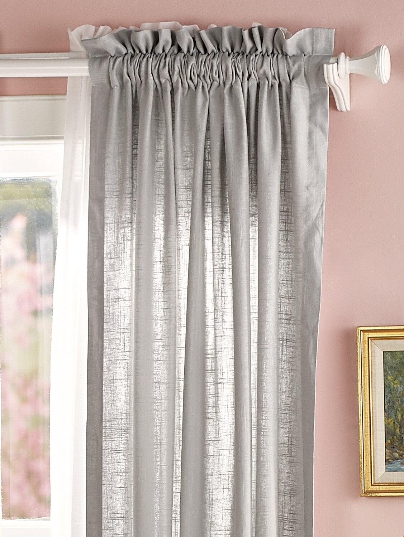 Soft Linen Rod Pocket Curtains