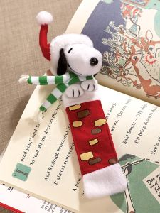 snoopy plush bookmark