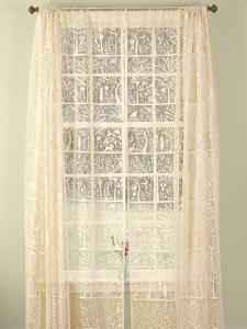 Nature Amp Lace Rod Pocket Curtains Tree Of Life Collection