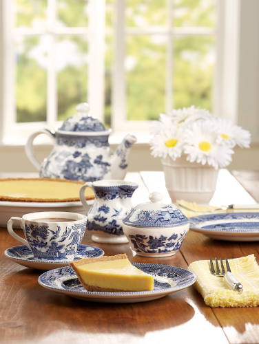 Blue Willow Dishes From Churchill China Of England