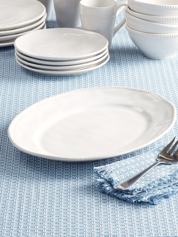 Al Garve 15 Inch Oval Serving Platter