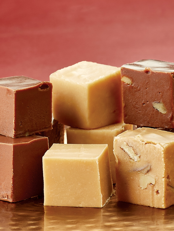 Orton Copper Kettle Fudge, 1 Pound Box