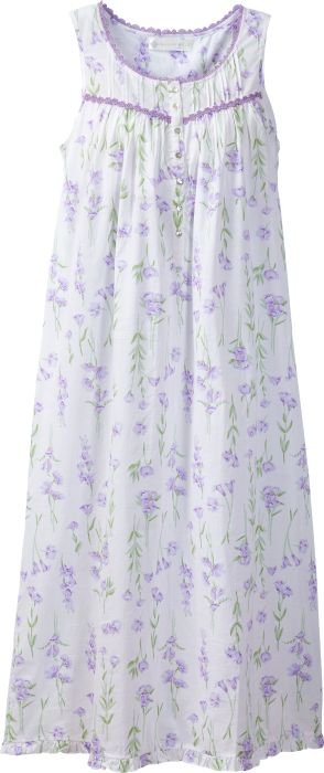 Eileen West Lavender Nightgown  f1dbefaa8