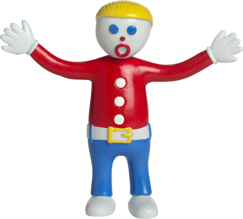 Mr. Bill Bendable Figure - The Clay Character