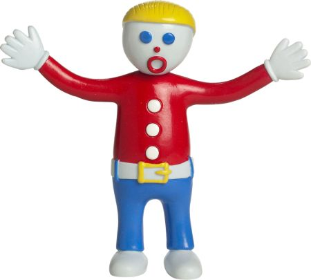 mr bill bendable figure the clay character