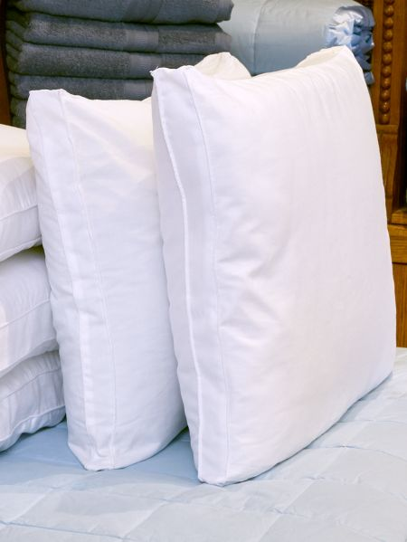 Flat Bed Pillows - Slender Pillow for Stomach Sleepers