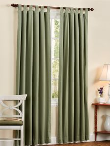 insulated tab top curtains and valances - Thermal Curtains