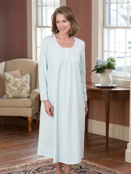 3e364fb265 Sweet Dreams Long Sleeve Nightgown