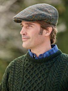 766eed4d0e2 Irish Vintage Tweed Cap