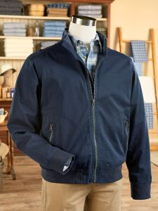 49e7c6eecdb Men s Garment Washed Twill Jacket