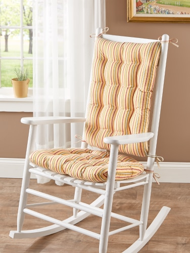 Rocking Chair Seat Cushions Tufted