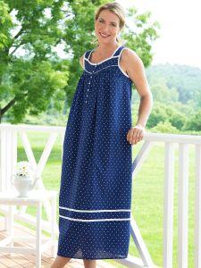 07d065e85efa Eileen West Summer Blues Nightgown