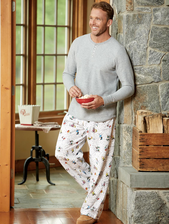 Men's Peanuts Snow Fun Pajamas