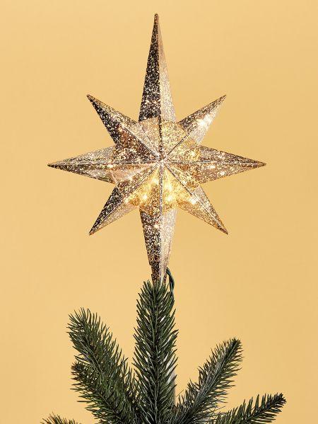 Lighted Bethlehem Star Tree Topper Vermont Country Store
