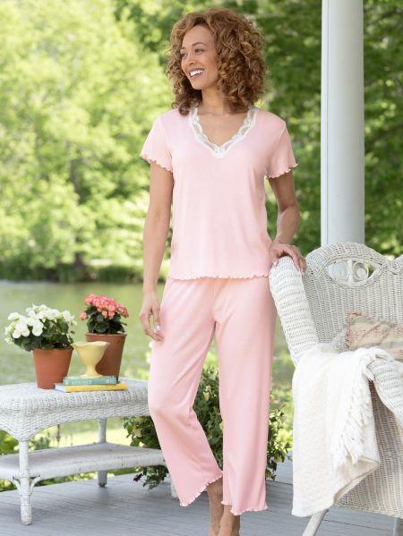 e1c3df6900 Women s FeelGood Capri Pajamas