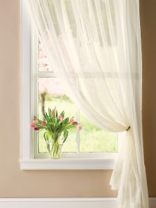 Lace Sheer Curtains Window Treatments
