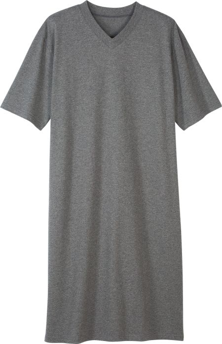 Mens Short-Sleeve Nightshirt  3f101dbcc