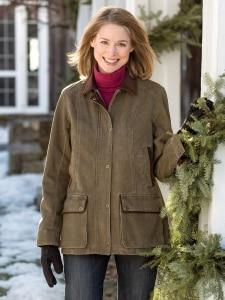 Womens Barn Jacket | Cotton Twill Coat