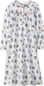 peanuts snow fun nightgown for girls