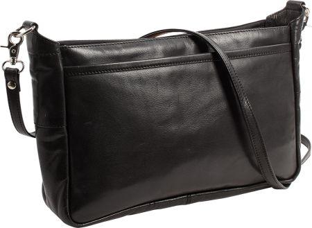 Leather Organizer Handbag