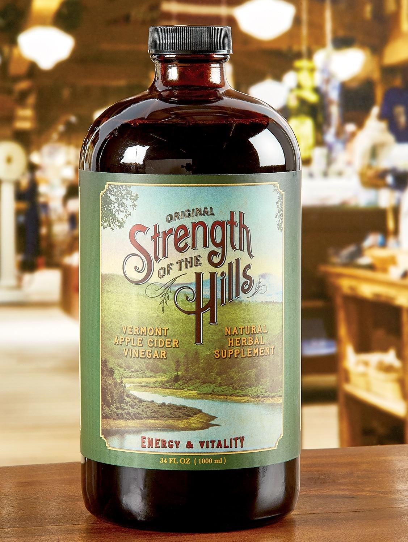 Strength of the Hills Cider Vinegar Tonic, 34 oz. Bottle
