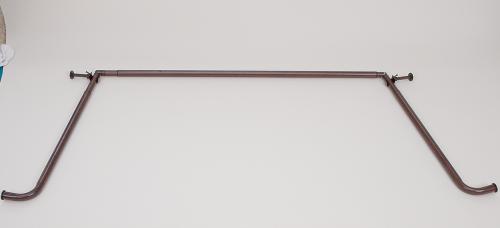 Decorative Bay Window Curtain Rod Set 1 Diameter
