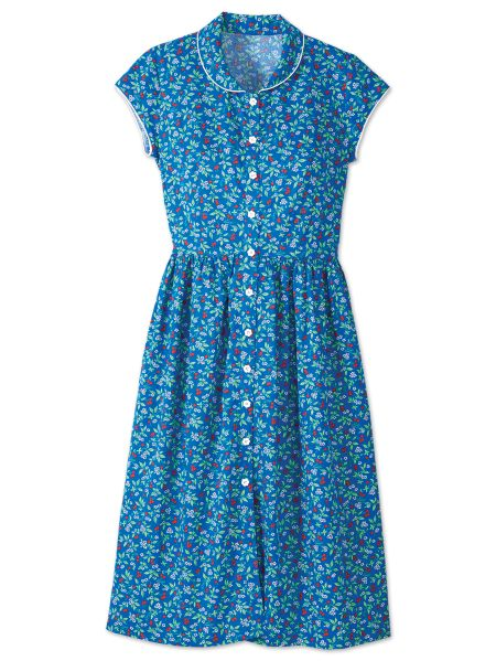 Womens Lanz Strawberry Fields Cotton Dress