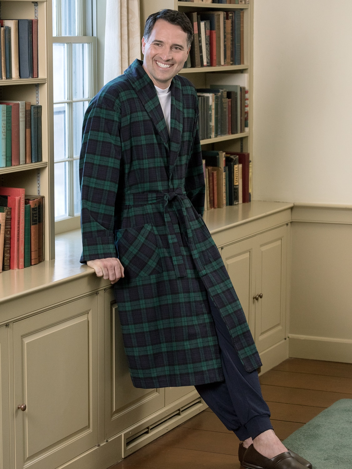 portuguese flannel robe from vermont country store