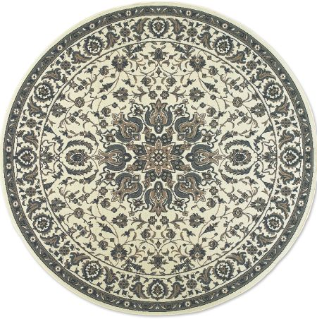 Round Floral Medallion Rug For Indoor Outdoor Use Vermont Country