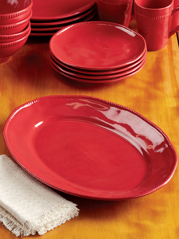 Al Garve 15-Inch Oval Serving Platter