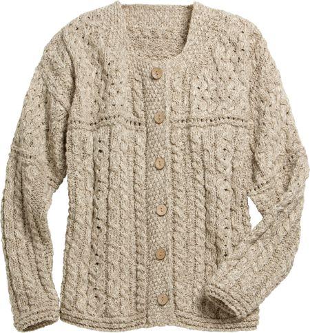 Irish Lightweight Cotton-Linen Blend Sweater For Women 9becb42a3