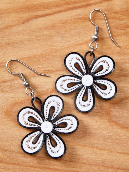 earrings in collection products sy silver gold flower yara camellia sweet collections