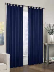room darkening insulated tab top curtains - Thermal Curtains